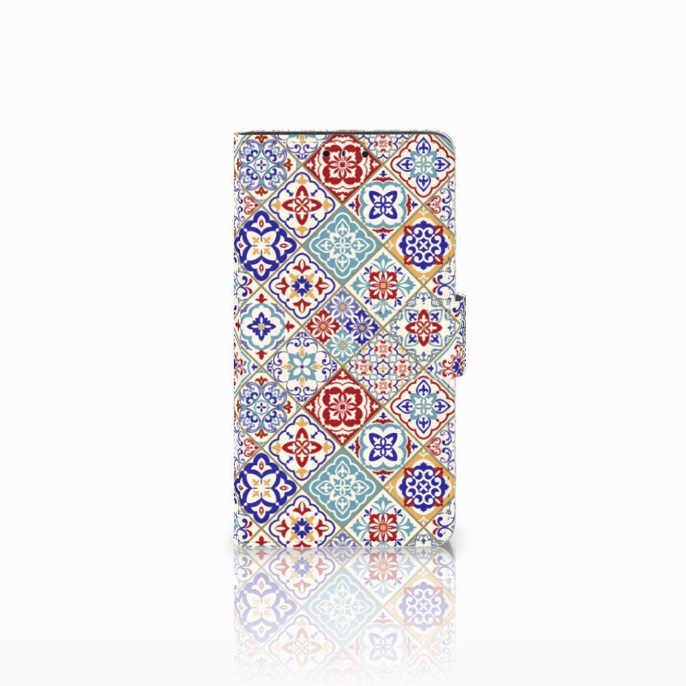 Huawei Y5 | Y6 2017 Uniek Boekhoesje Tiles Color