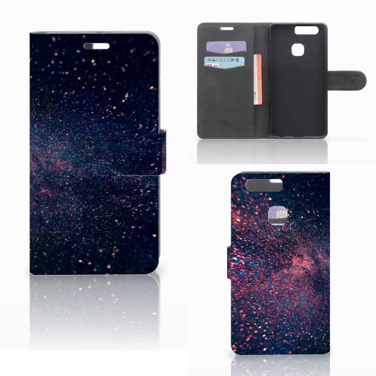 Huawei P9 Plus Bookcase Stars