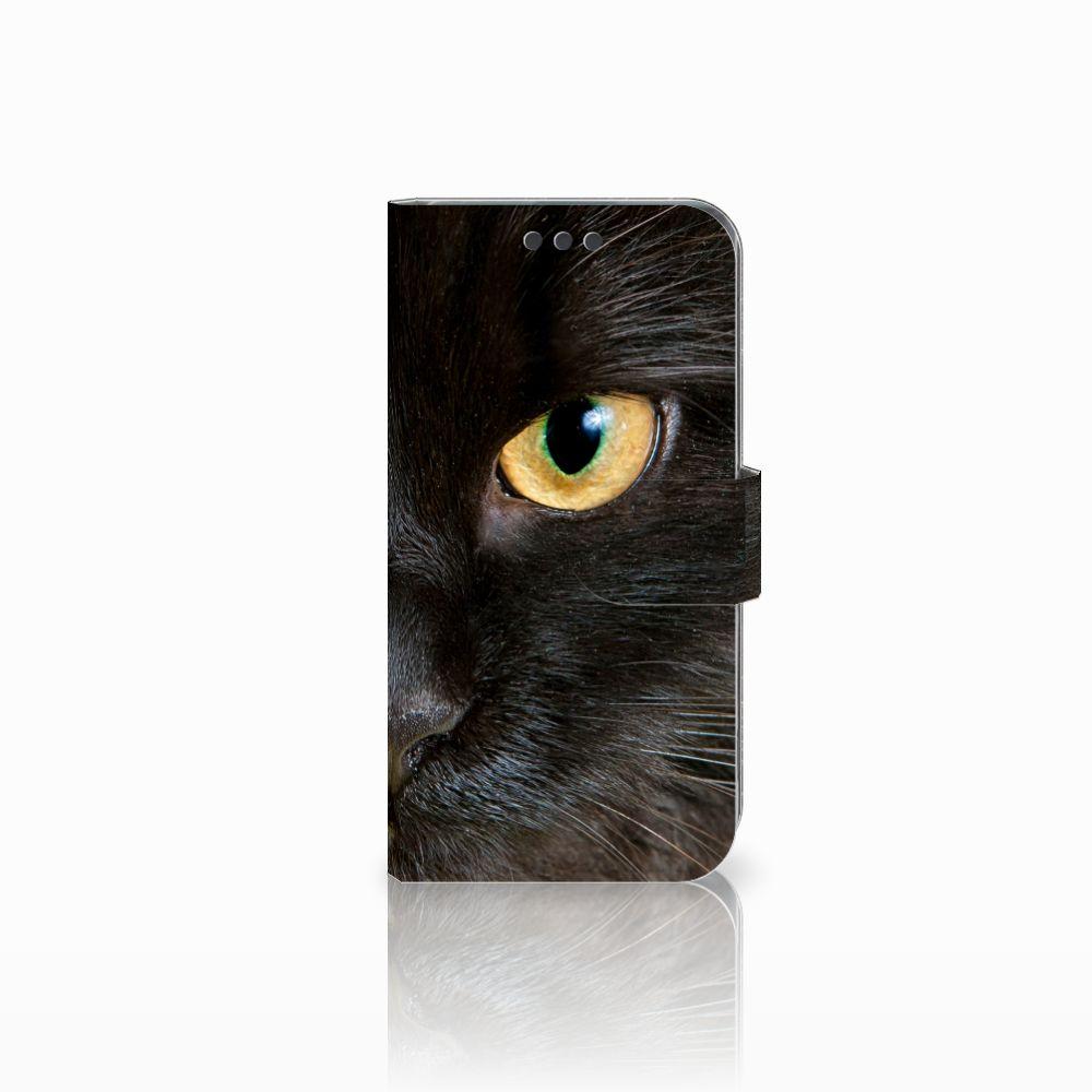 Sony Xperia XA | XA Dual Uniek Boekhoesje Zwarte Kat