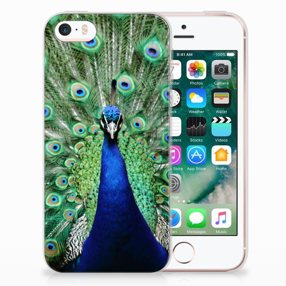 Apple iPhone SE | 5S TPU Hoesje Design Pauw