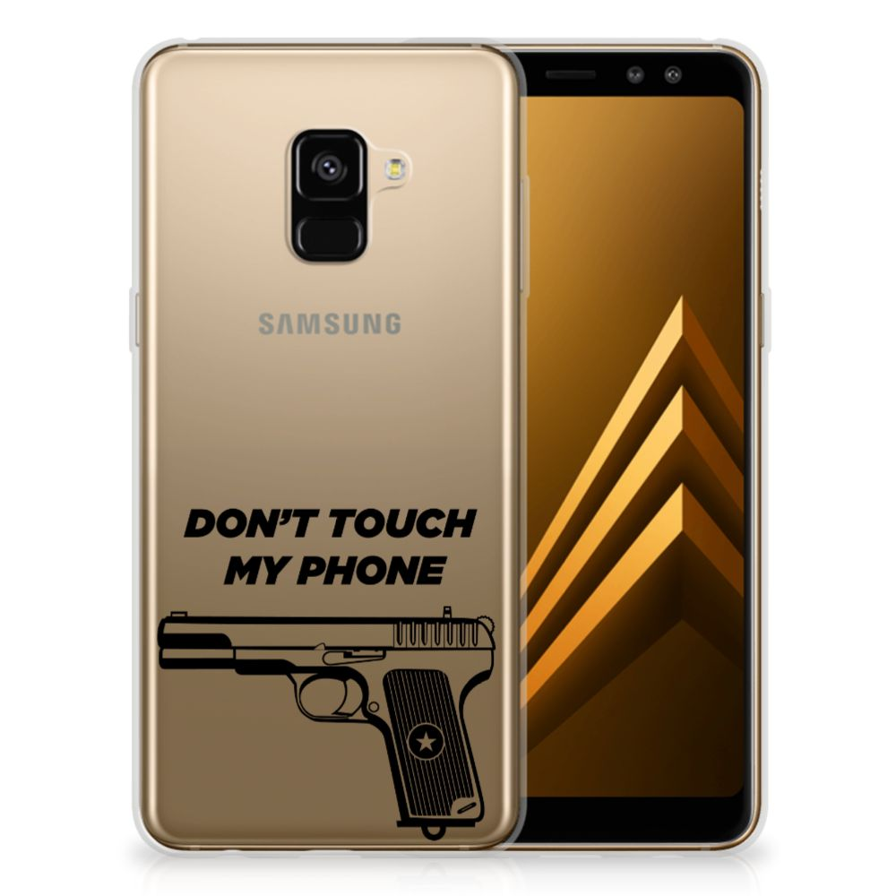 Samsung Galaxy A8 Plus (2018) Silicone-hoesje Pistol DTMP