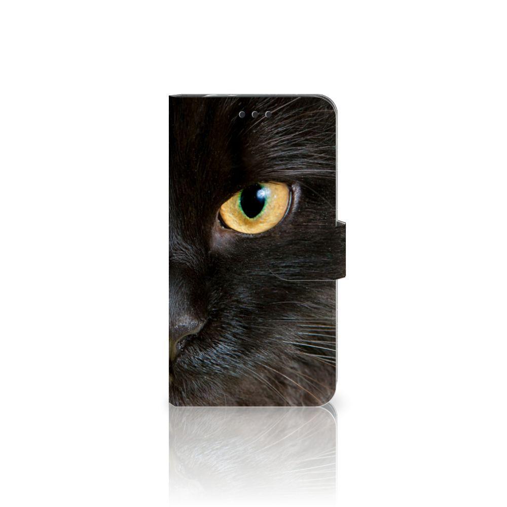 Motorola Moto Z2 Force Uniek Boekhoesje Zwarte Kat