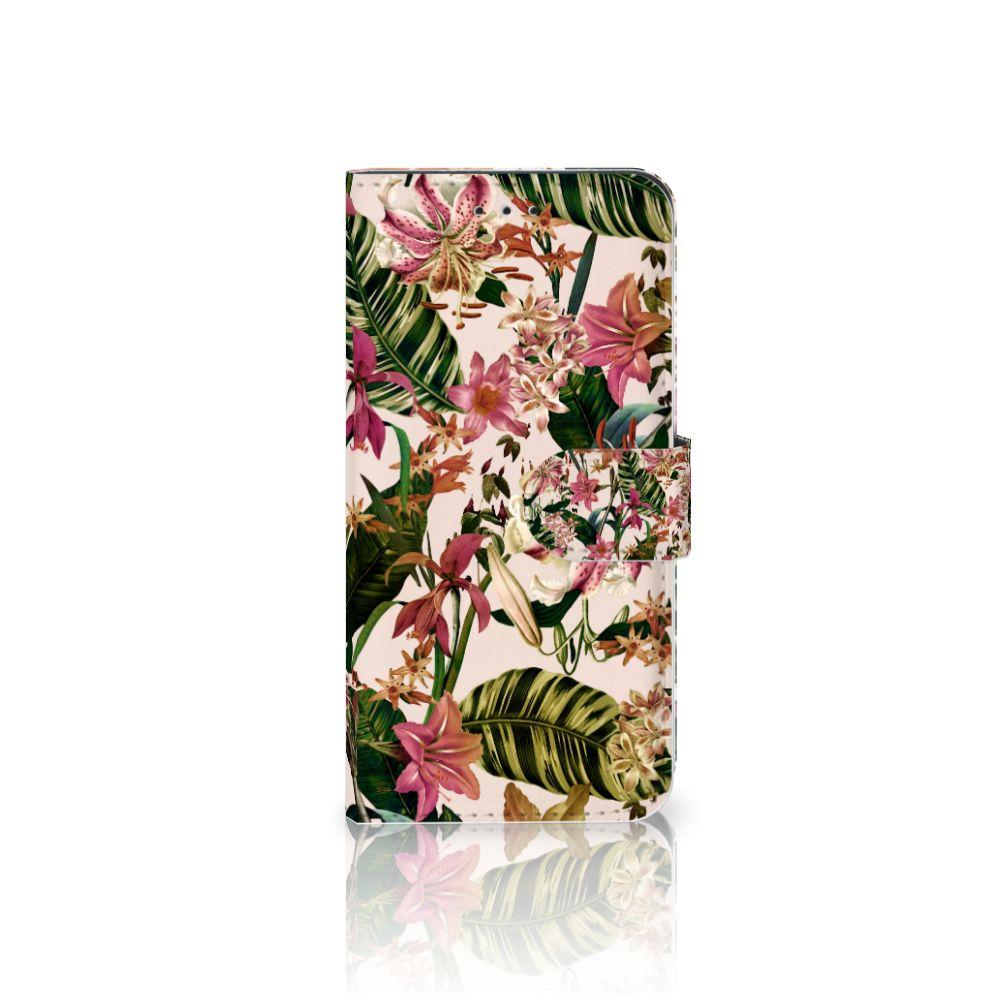 Nokia 7.1 Uniek Boekhoesje Flowers