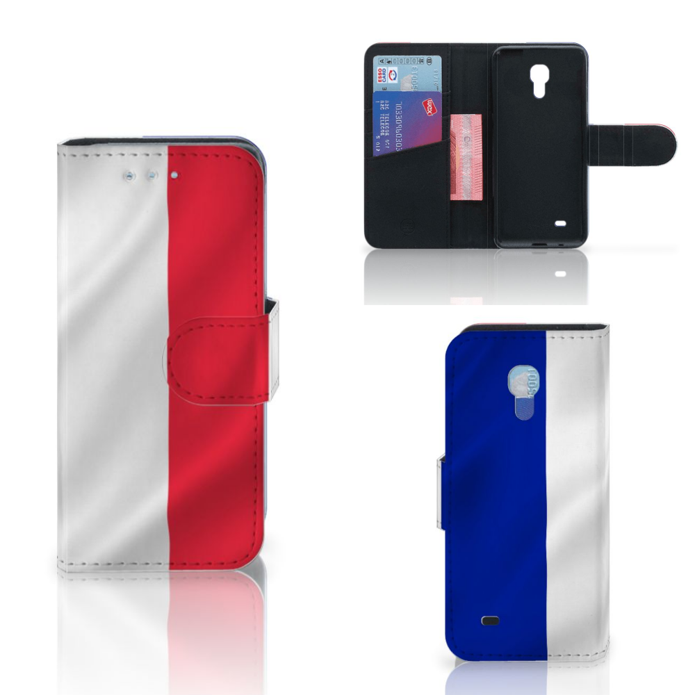 Samsung Galaxy S4 Mini i9190 Bookstyle Case Frankrijk