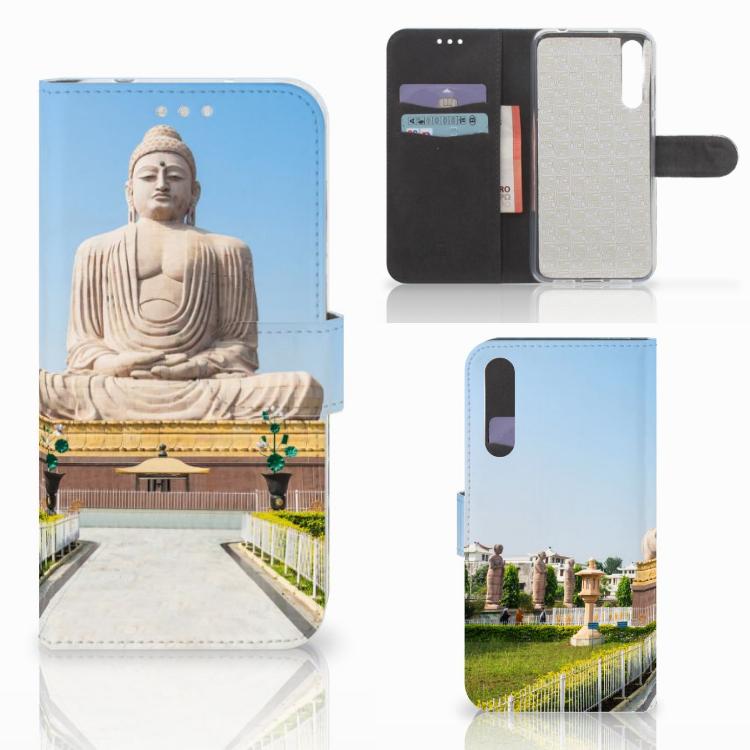 Huawei P20 Pro Flip Cover Boeddha