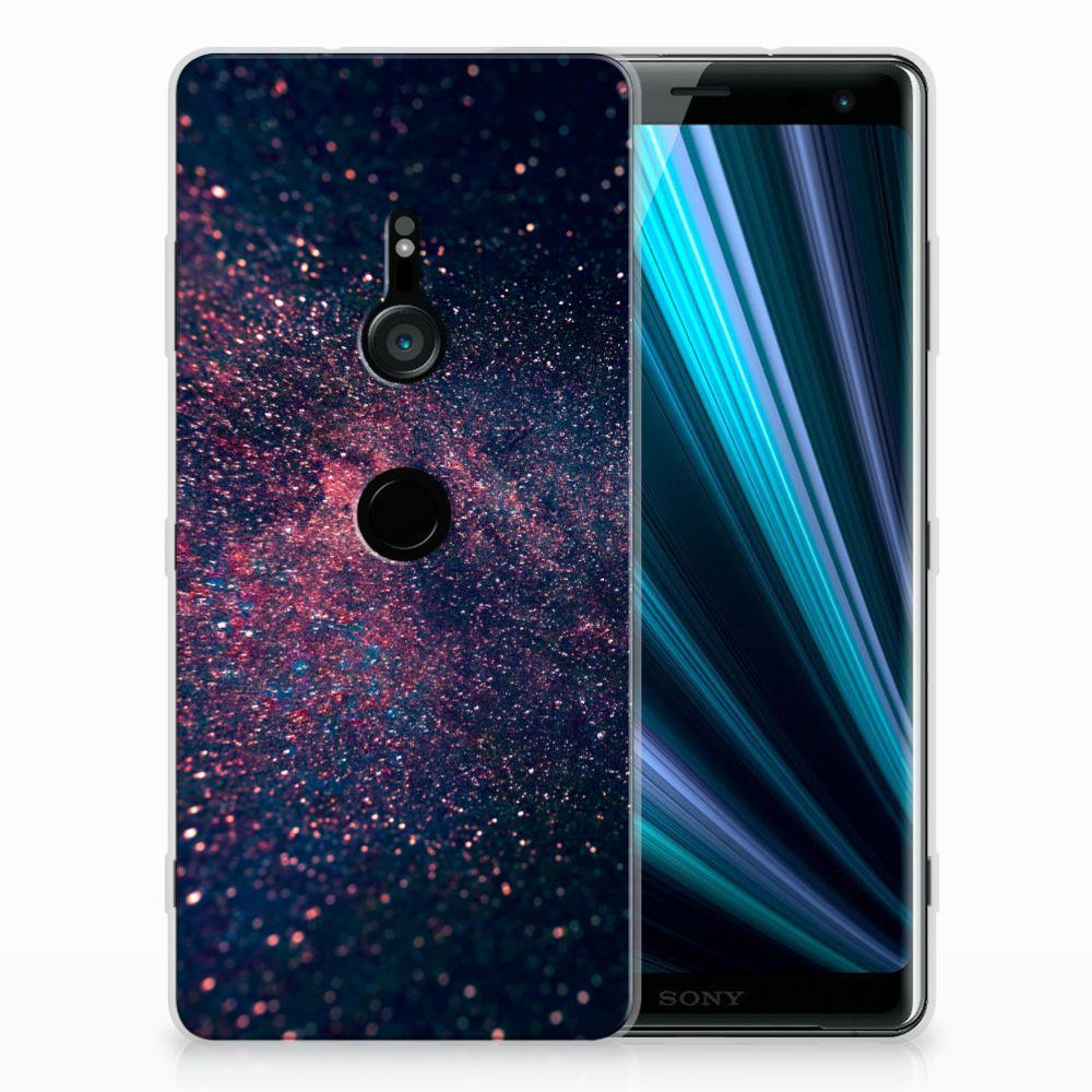 Sony Xperia XZ3 TPU Hoesje Design Stars