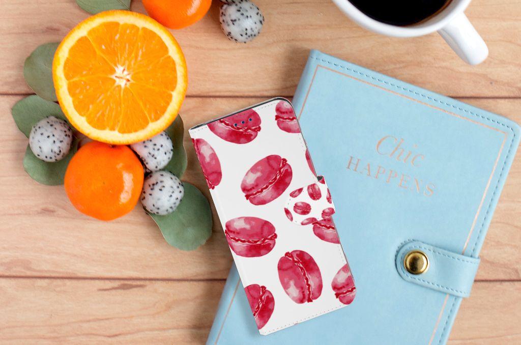 Samsung Galaxy S8 Boekhoesje Design Pink Macarons