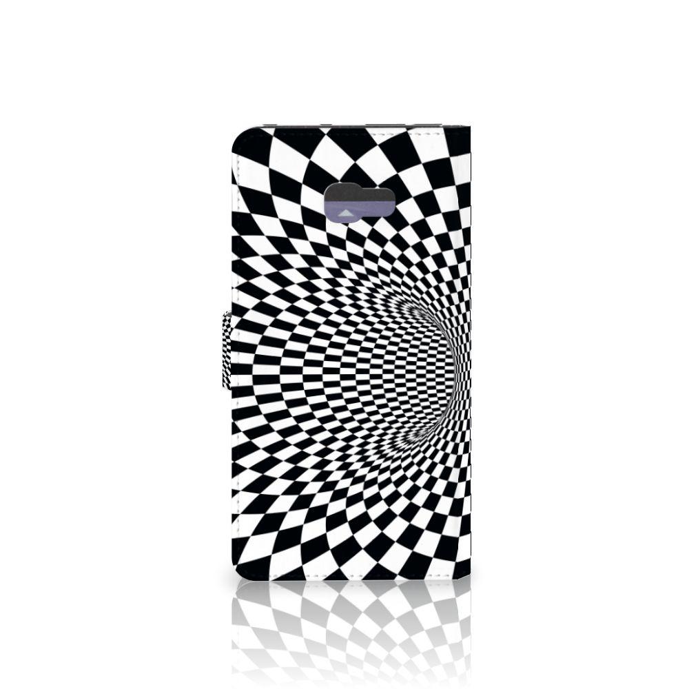 Samsung Galaxy A7 2017 Bookcase Illusie