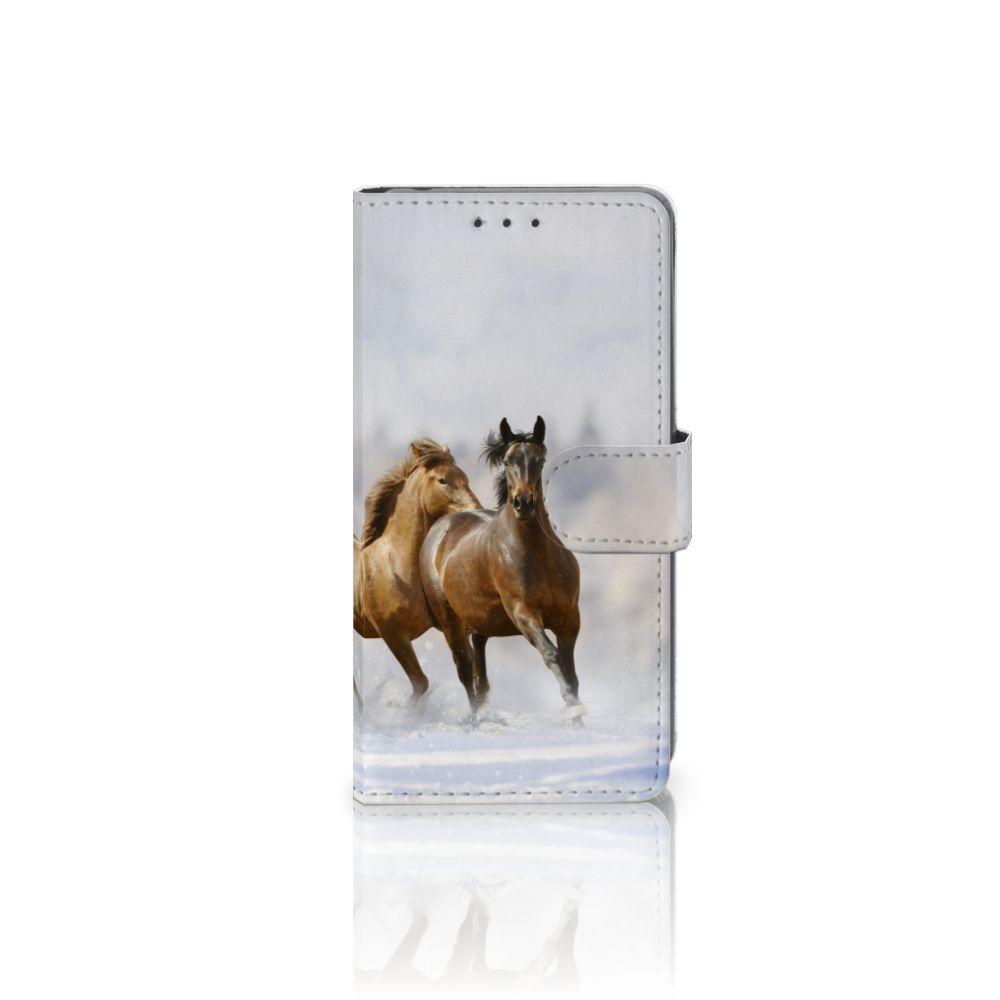 Sony Xperia Z2 Uniek Boekhoesje Paarden
