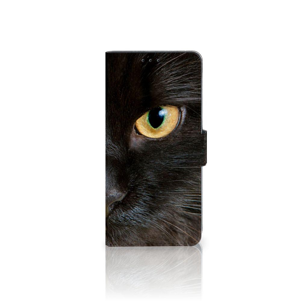 Sony Xperia XZ3 Uniek Boekhoesje Zwarte Kat
