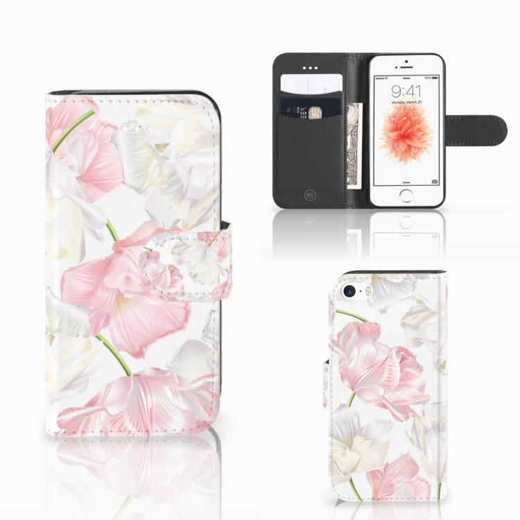 Apple iPhone 5 | 5s | SE Hoesje Lovely Flowers