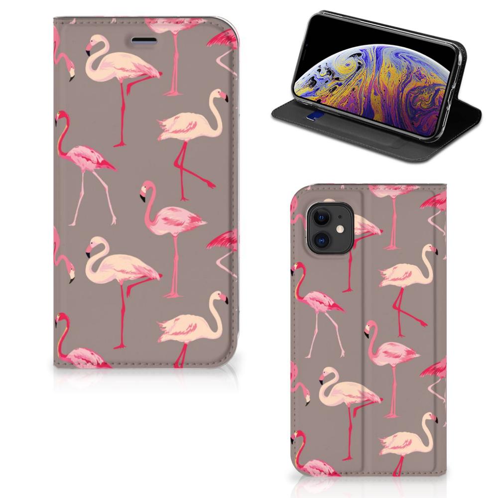 Apple iPhone 11 Hoesje maken Flamingo