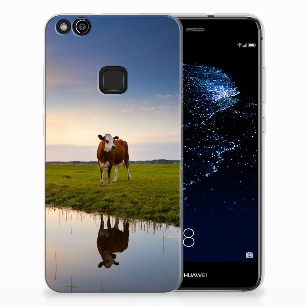 Huawei P10 Lite TPU Hoesje Design Koe