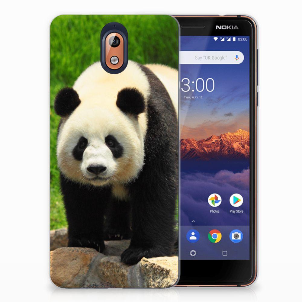 Nokia 3.1 (2018) TPU Hoesje Design Panda