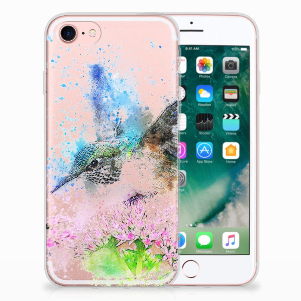 Apple iPhone 7 | 8 TPU Hoesje Design Vogel