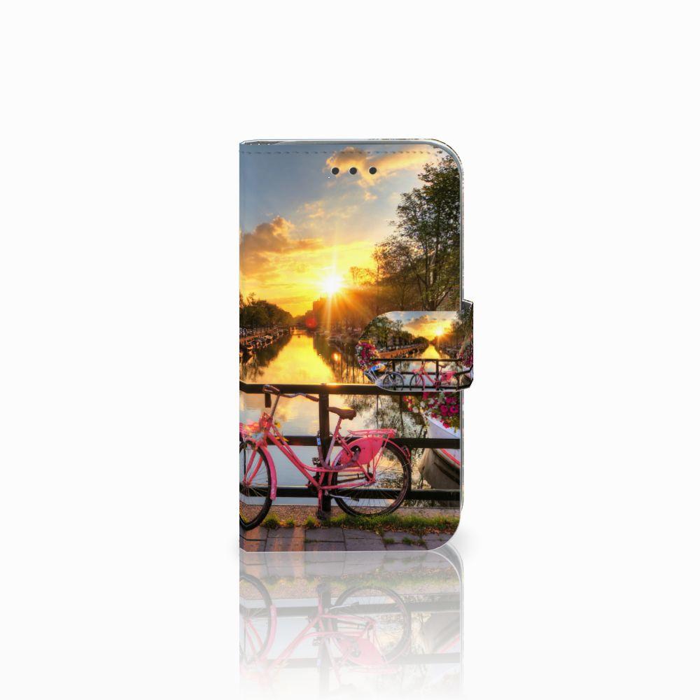 Samsung Galaxy Core Prime Uniek Boekhoesje Amsterdamse Grachten