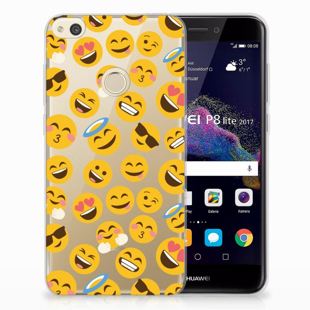 Huawei P8 Lite 2017 TPU Hoesje Design Emoji