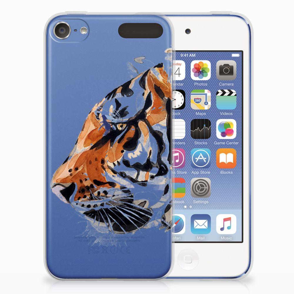 Hoesje maken Apple iPod Touch 5   6 Watercolor Tiger