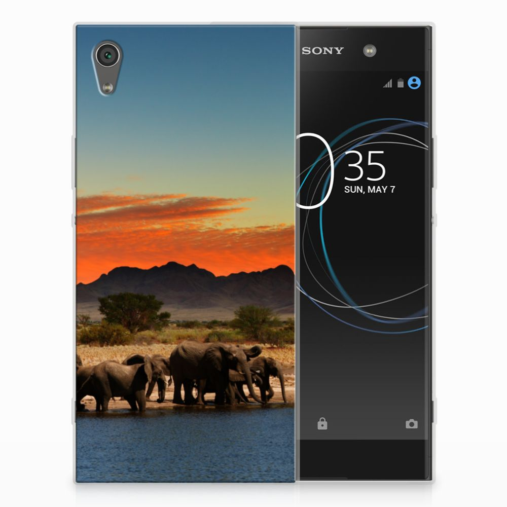 Sony Xperia XA1 Ultra TPU Hoesje Olifanten
