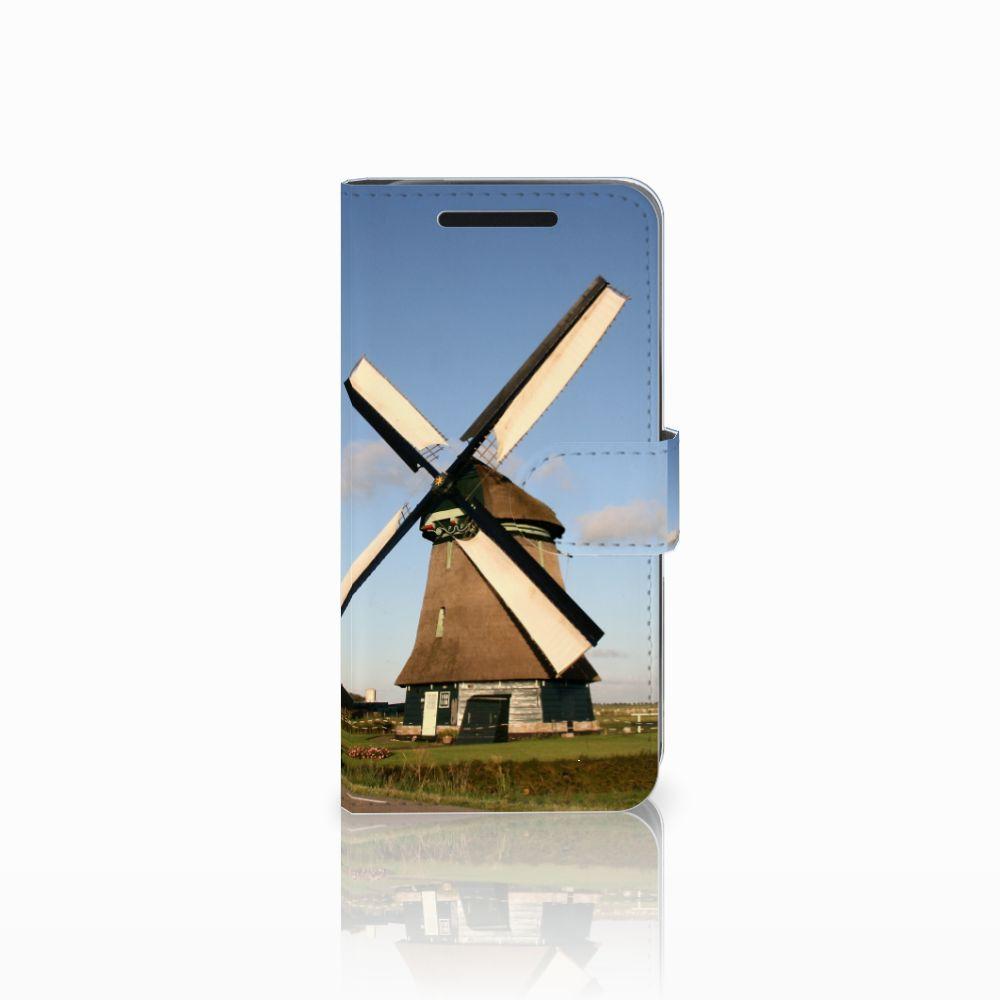 HTC One M9 Uniek Boekhoesje Molen