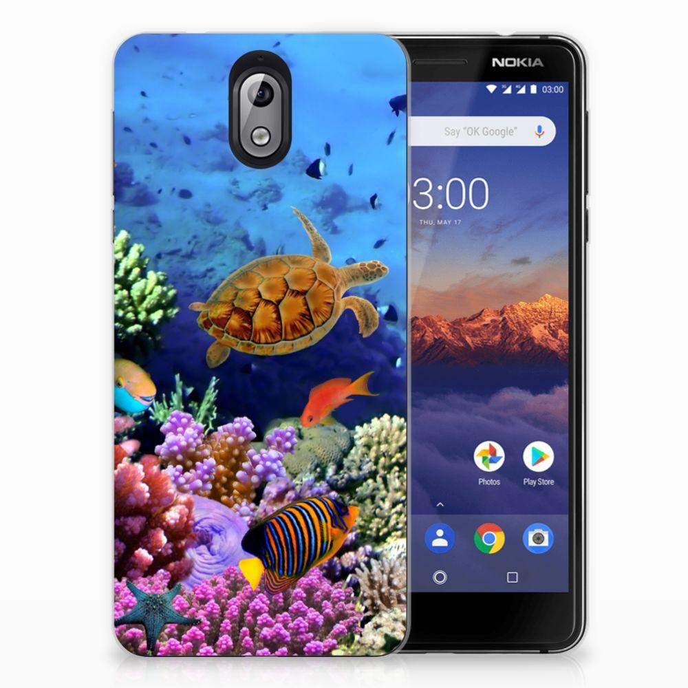Nokia 3.1 (2018) TPU Hoesje Vissen