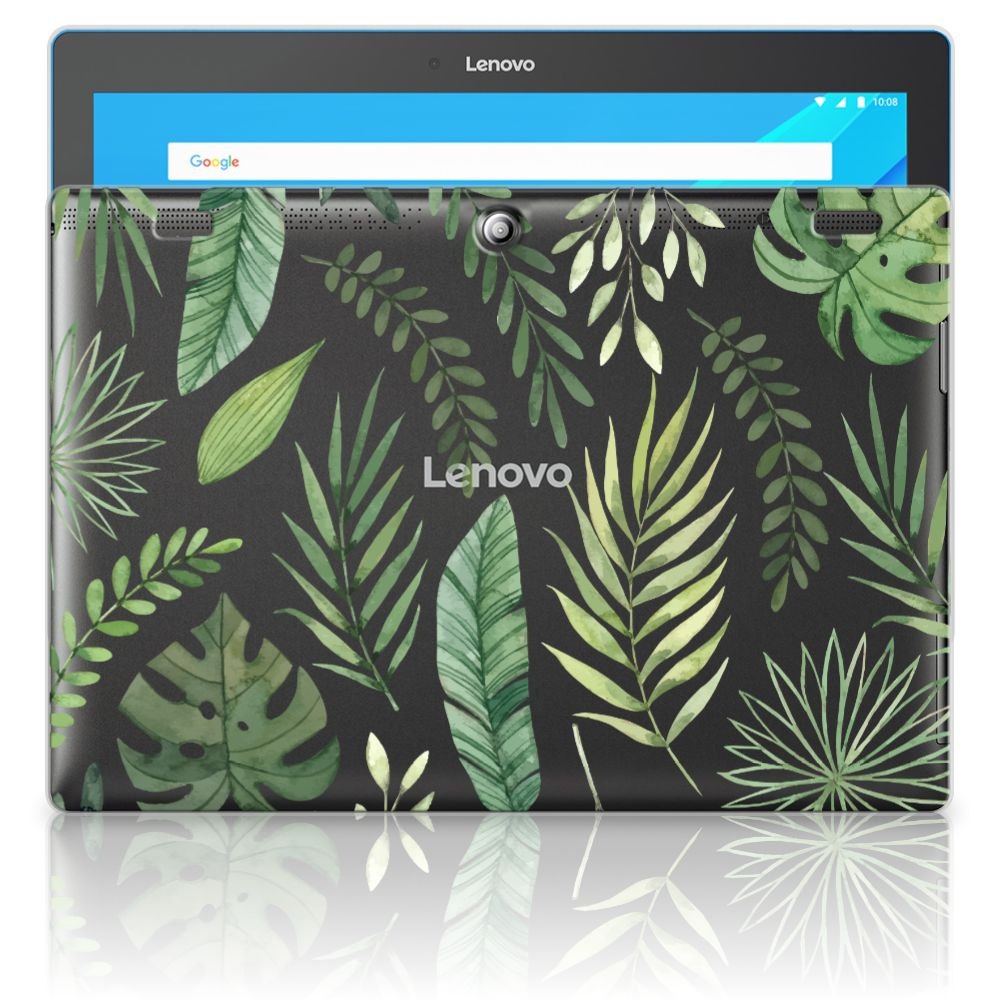 Lenovo Tab 10 | Tab 2 A10-30 Siliconen Hoesje Leaves