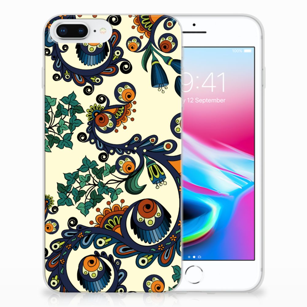 Apple iPhone 7 Plus | 8 Plus TPU Hoesje Design Barok Flower