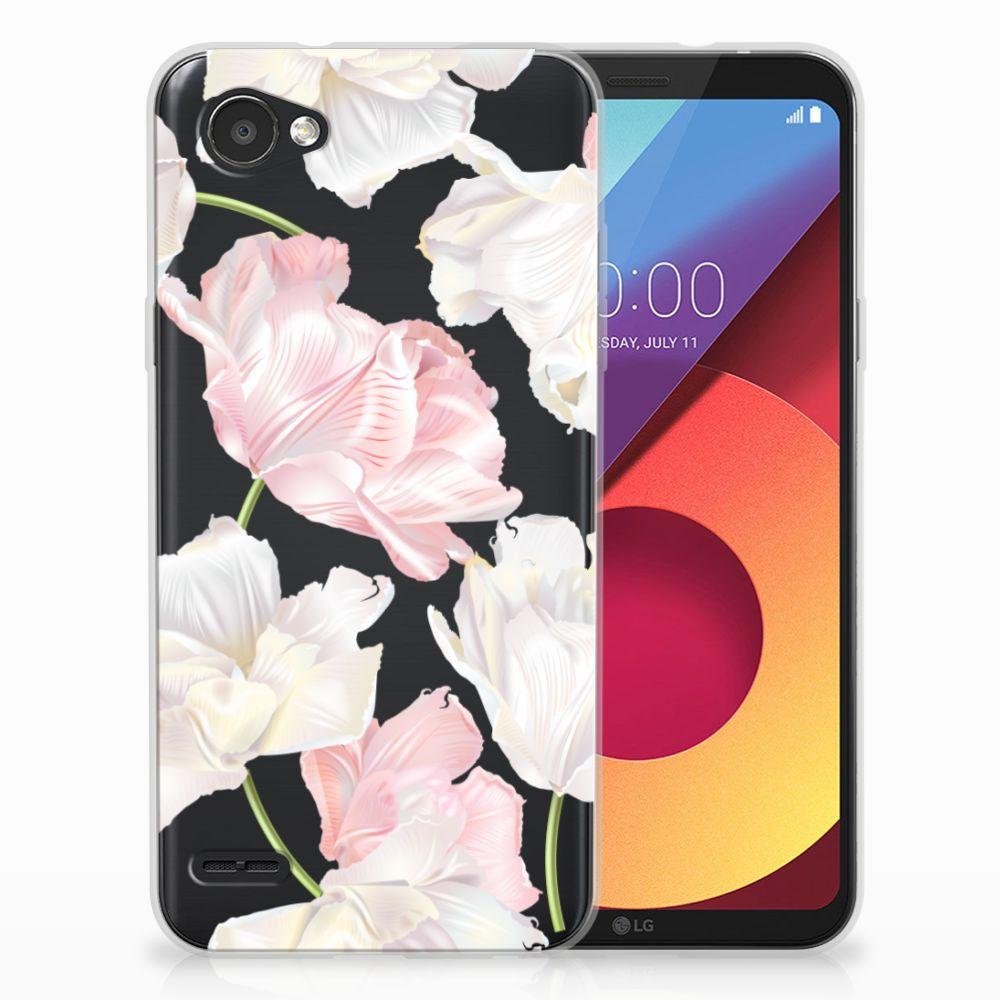 LG Q6 | LG Q6 Plus TPU Hoesje Design Lovely Flowers