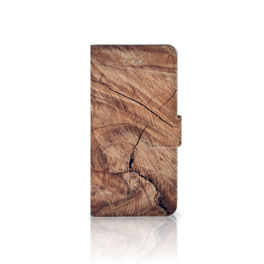 Honor 4A | Y6 Book Style Case Tree Trunk