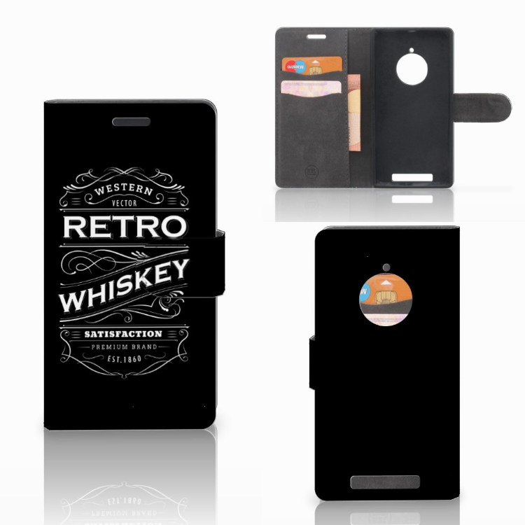 Nokia Lumia 830 Book Cover Whiskey