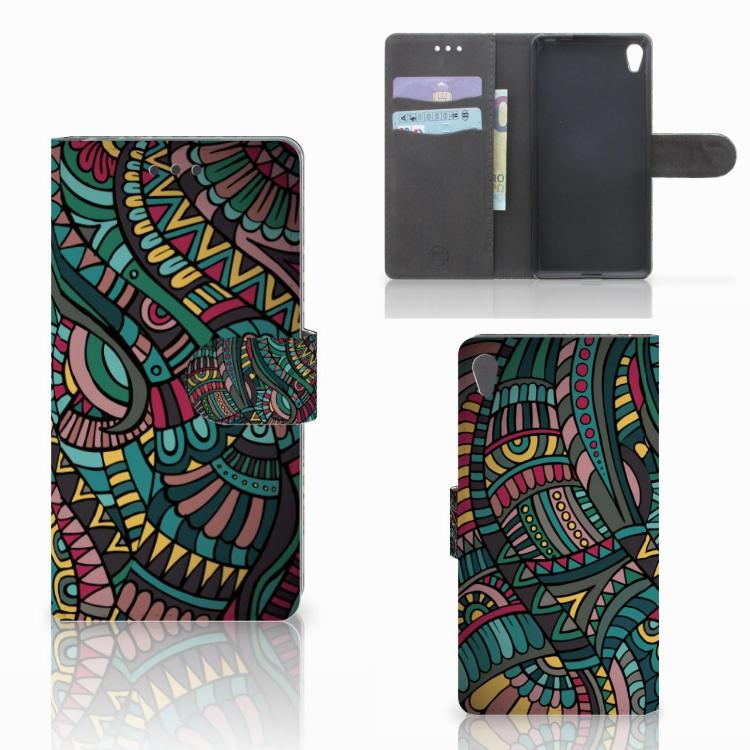 Sony Xperia E5 Telefoon Hoesje Aztec