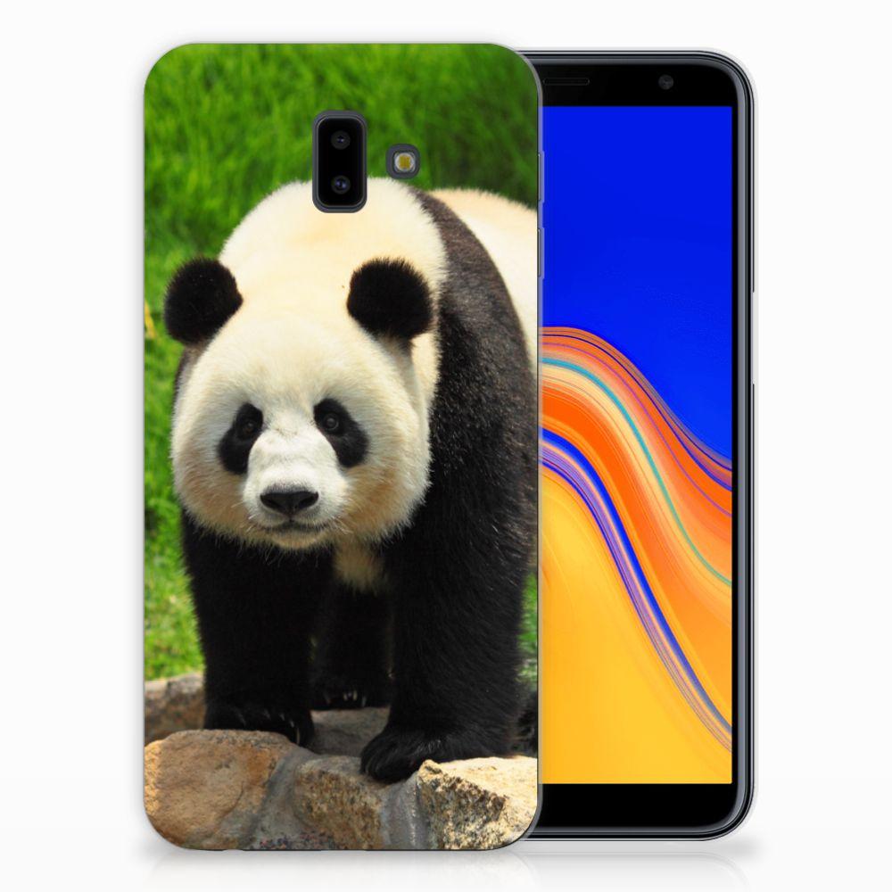 Samsung Galaxy J6 Plus (2018) Leuk Hoesje Panda
