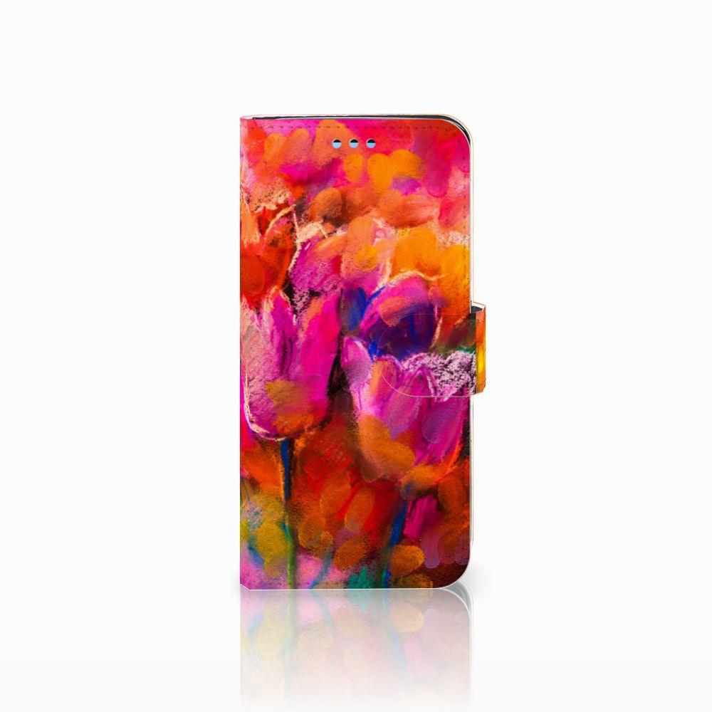 Samsung Galaxy S9 Boekhoesje Design Tulips