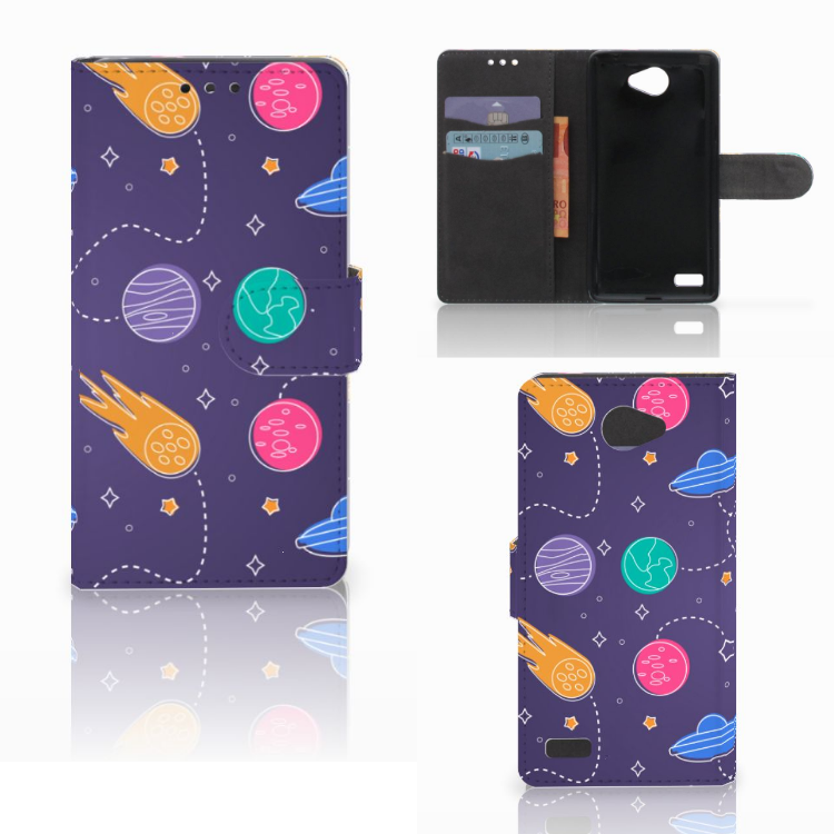 LG Bello 2 Wallet Case met Pasjes Space