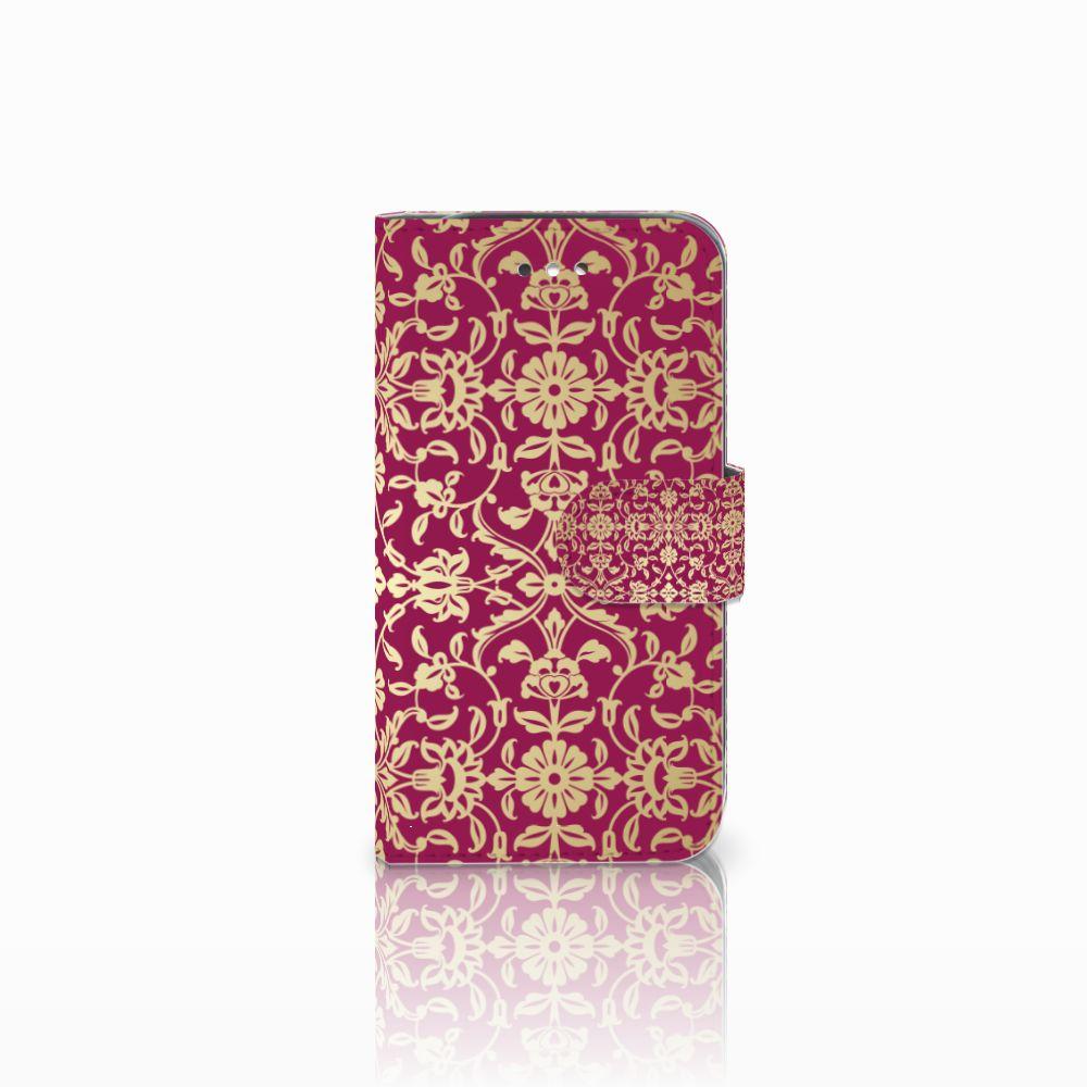 Samsung Galaxy S4 Boekhoesje Design Barok Pink