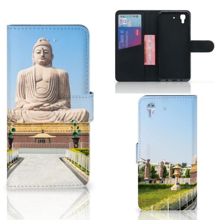 Honor 4A | Y6 Flip Cover Boeddha