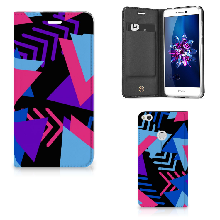 Huawei P8 Lite 2017 Stand Case Funky Triangle