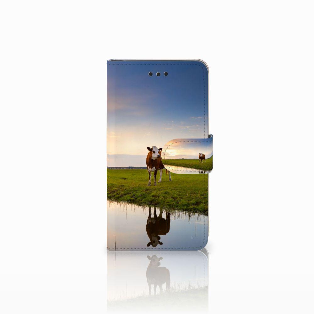 Samsung Galaxy J2 Pro 2018 Boekhoesje Design Koe