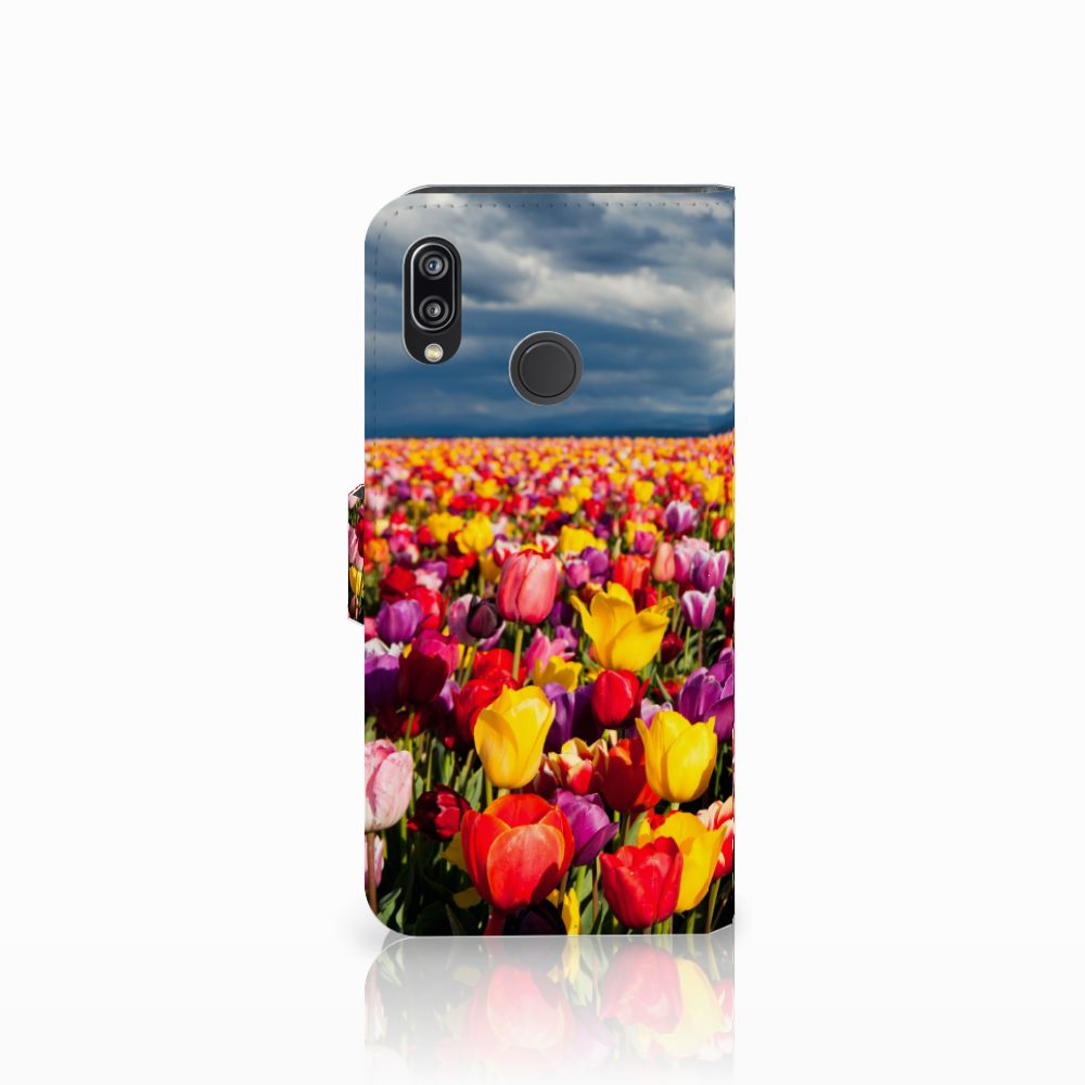 Huawei P20 Lite Hoesje Tulpen