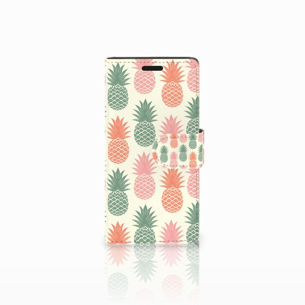 LG Leon 4G Boekhoesje Design Ananas