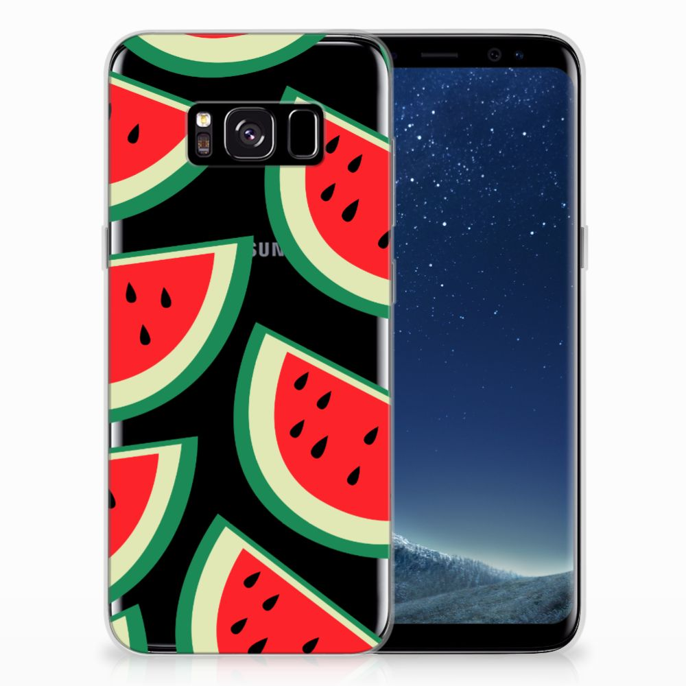 Samsung Galaxy S8 Siliconen Case Watermelons