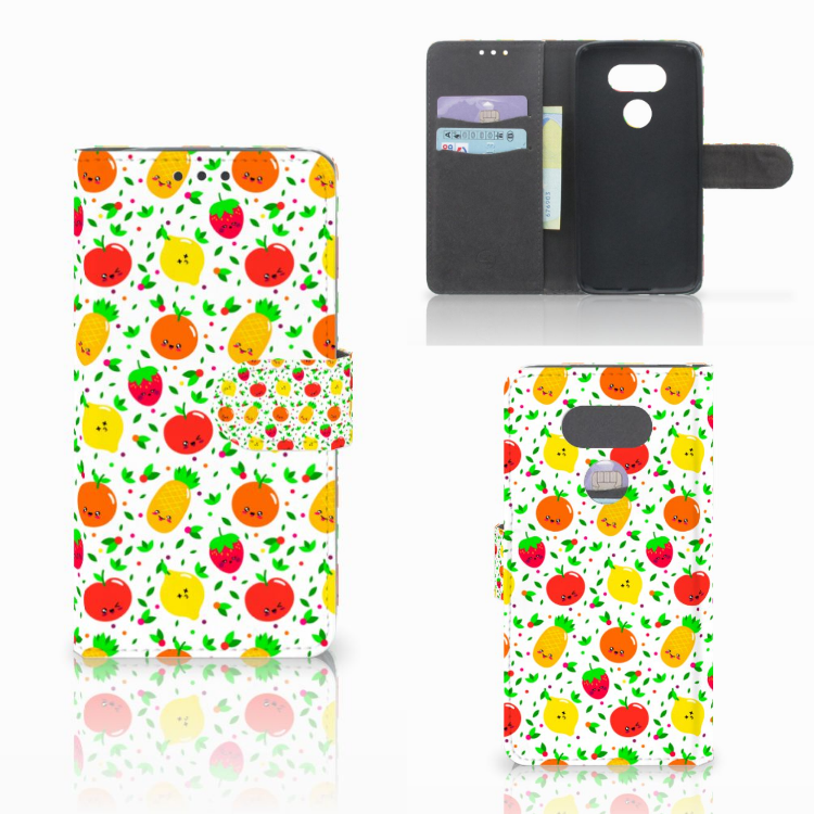 LG G5 Book Cover Fruits