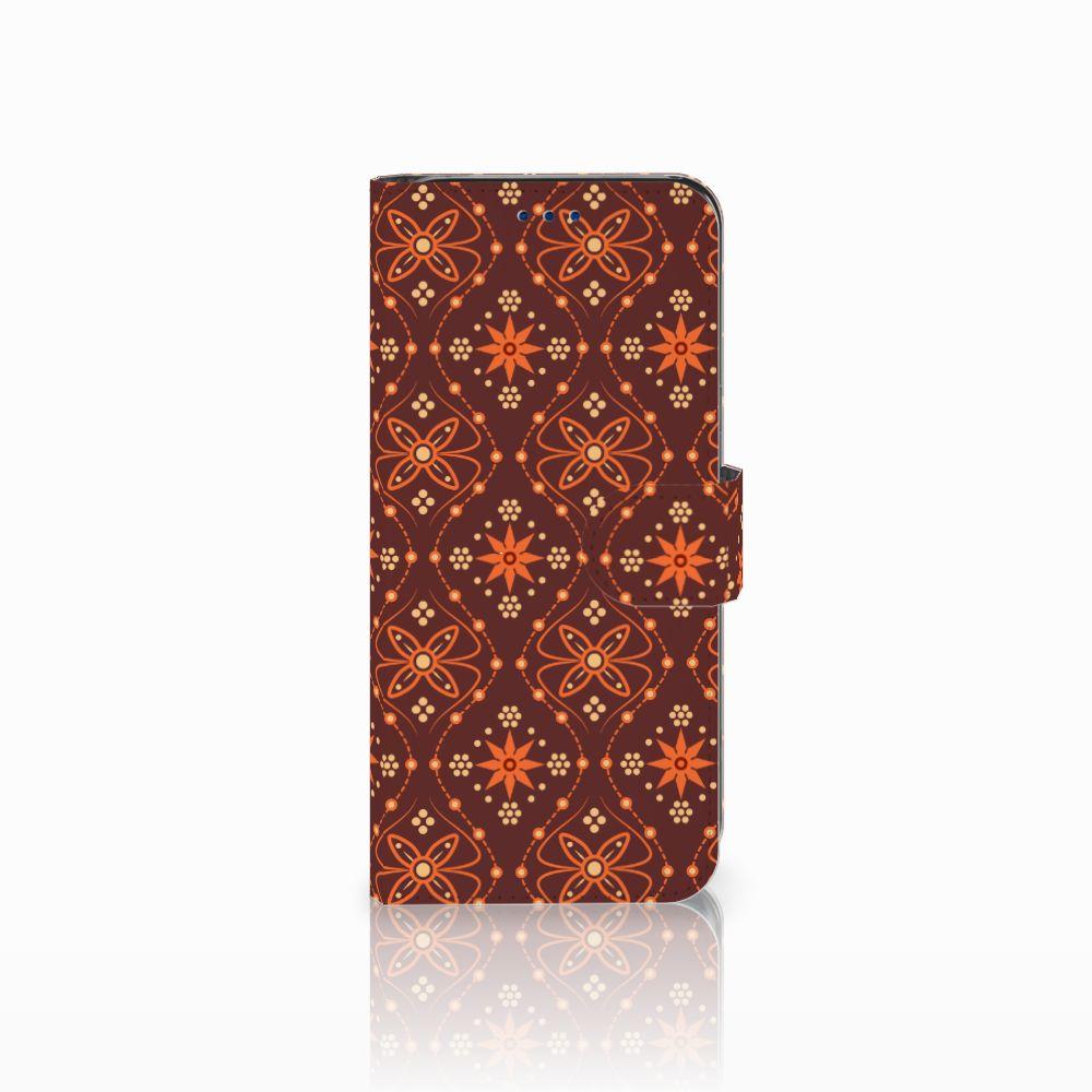 Samsung Galaxy S8 Uniek Boekhoesje Batik Brown
