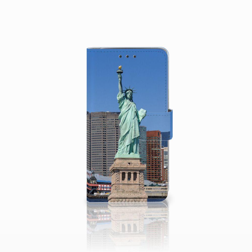 LG Q6 | LG Q6 Plus Uniek Boekhoesje Vrijheidsbeeld