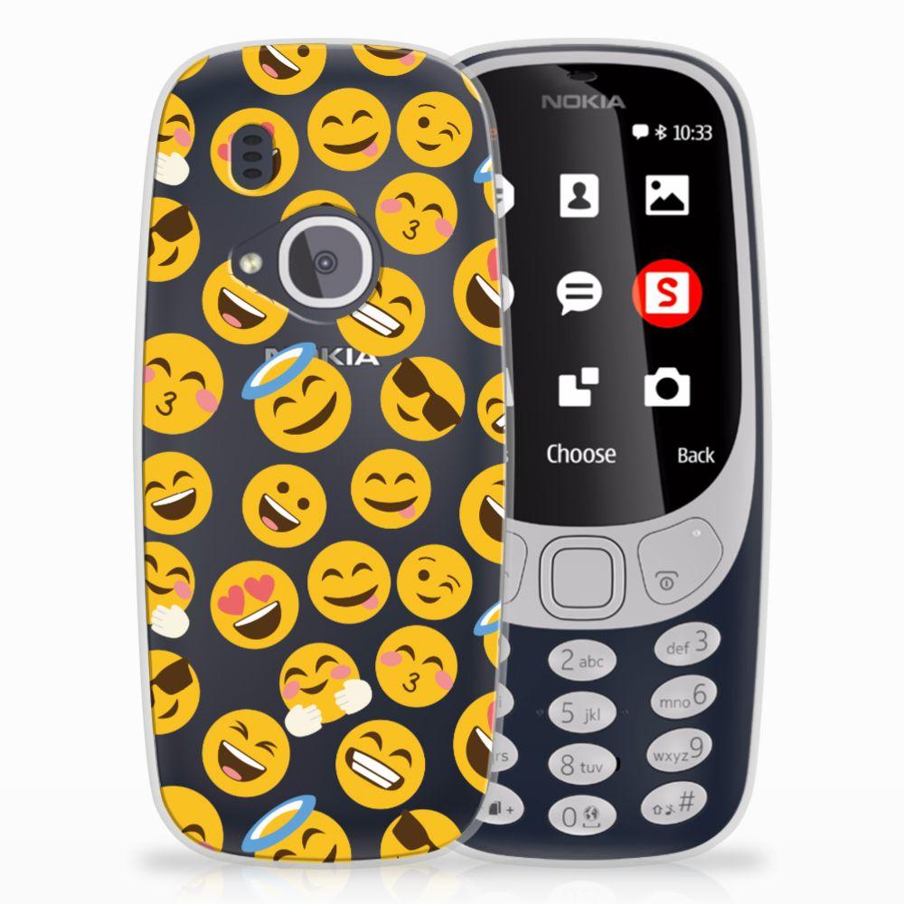 Nokia 3310 (2017) TPU Hoesje Design Emoji