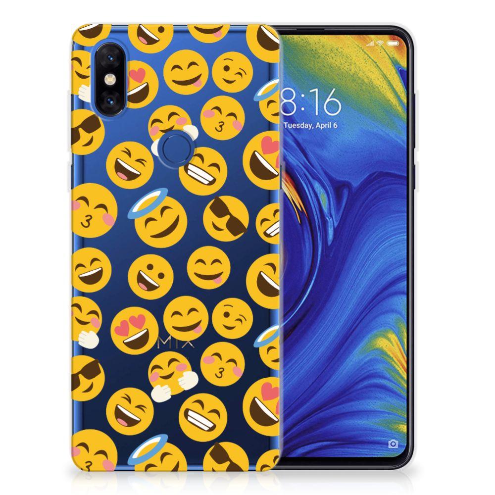 Xiaomi Mi Mix 3 TPU bumper Emoji