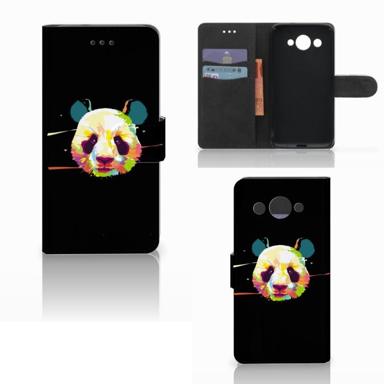 Huawei Y3 2017 Leuke Hoesje Panda Color