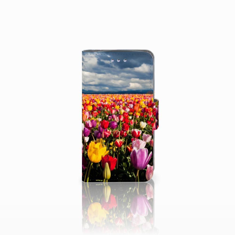 Samsung Galaxy S3 Mini Uniek Boekhoesje Tulpen