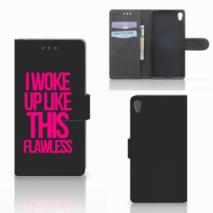 Sony Xperia E5 Hoesje met naam Woke Up