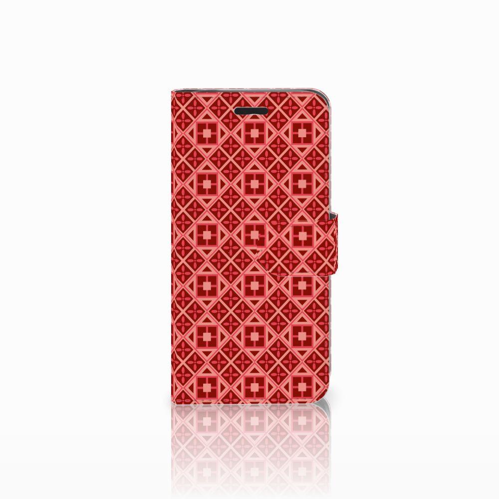 Acer Liquid Z530 | Z530s Uniek Boekhoesje Batik Red
